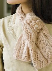 The Juliet Scarf is a lace scarf knitting pattern found in our free Knitting Scarves for all Seasons eBook.