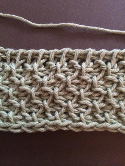 Marlo Cardigan Honeycomb Stitch Tutorial Interweave