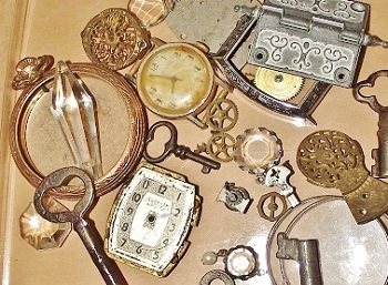steampunk jewelry making suppilies