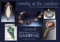 juried art jewelry show postcard