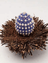 The Beaded Easter Egg is a bead craft project found in our free Bead Craft Patterns eBook.