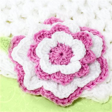 Multi Layered Flower Pattern Interweave