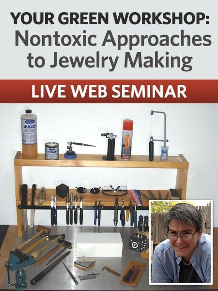 create an efficient nontoxic jewelry studio webinar with Anne Mitchell