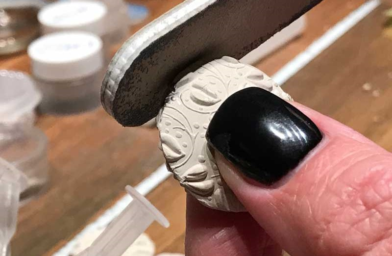 metal clay jewelry making: lentil bead project
