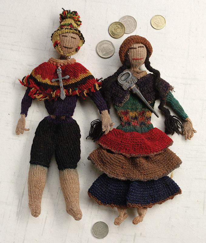 historical knitting