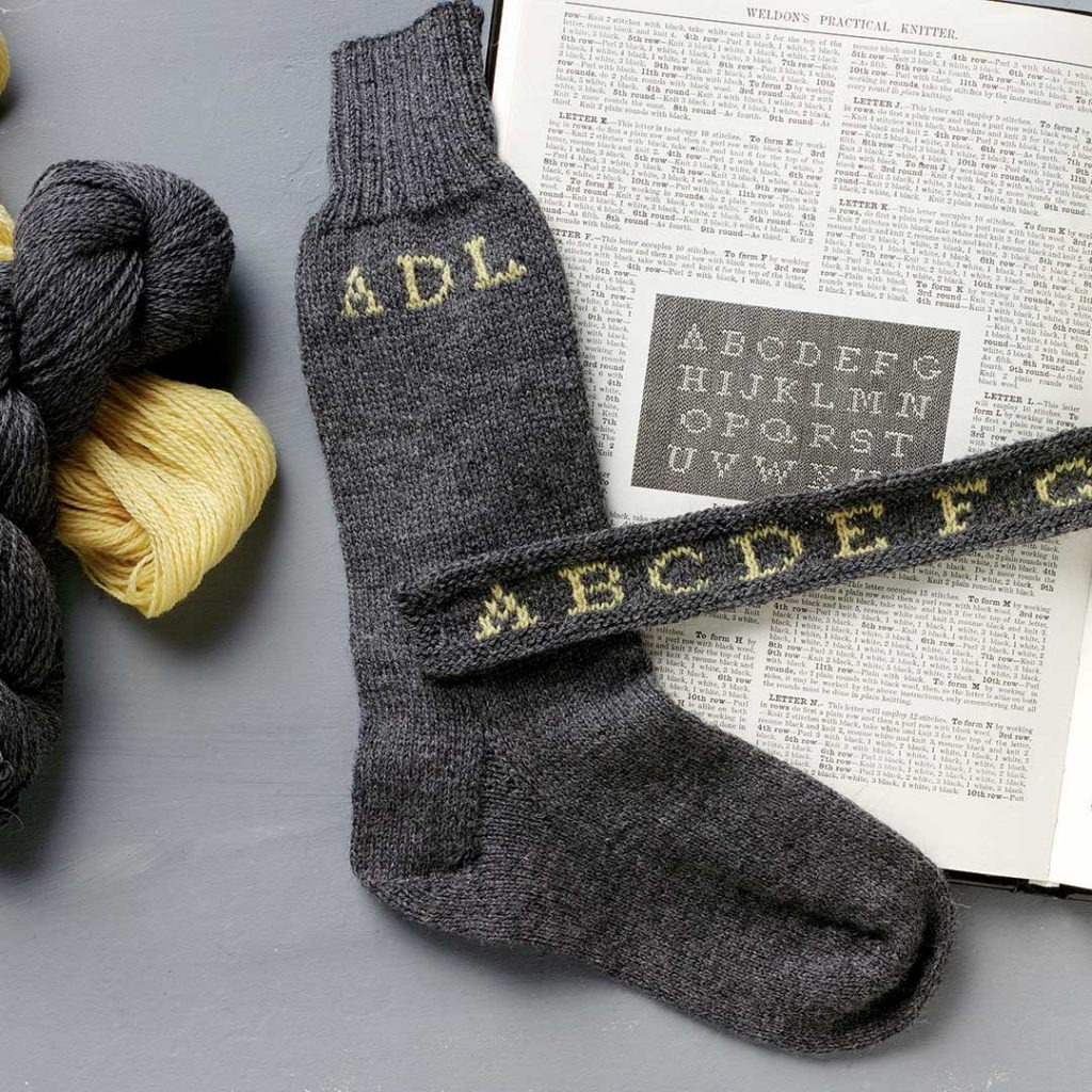 Monogramed Socks