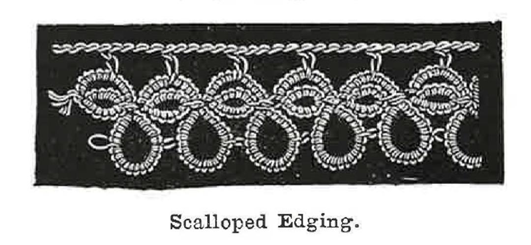 Scalloped Edging