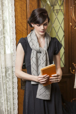Scarf to Knit for Vera by Susan Strawn. Photos by Joe Coca
