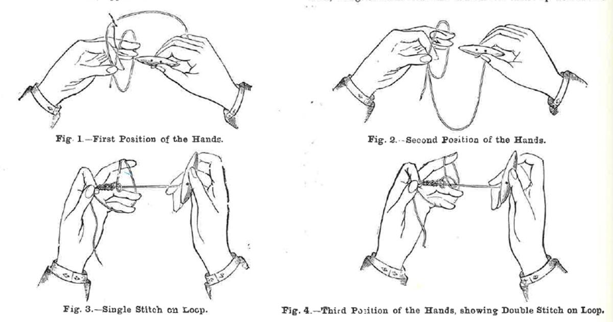 Victorian tatting
