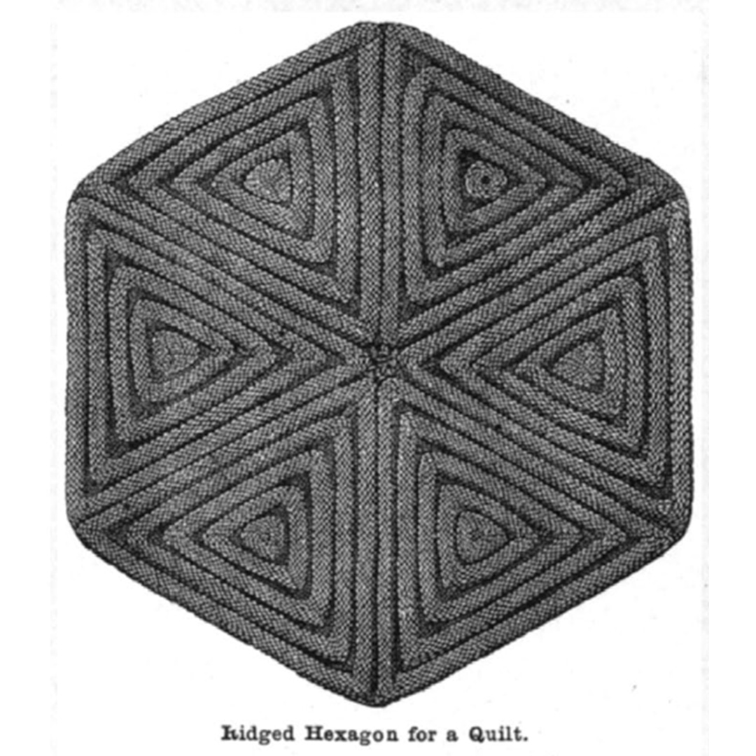 knitted triangles