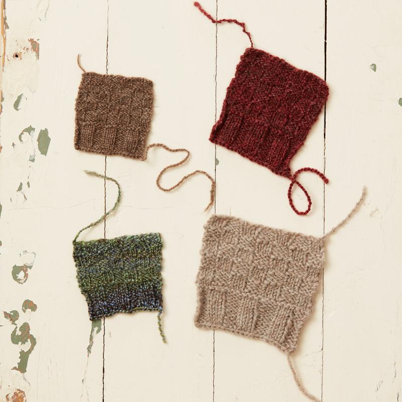 knitting with handspun yarn