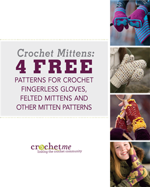 Free crochet mittens patterns you'll love.