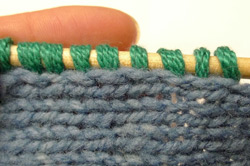 Picking Up Stitches Properly and Evenly - Interweave