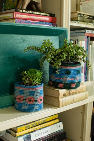 Garden Plot Baskets Closeup