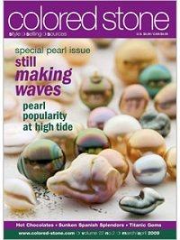 Colored Stone magazine March/April 2009