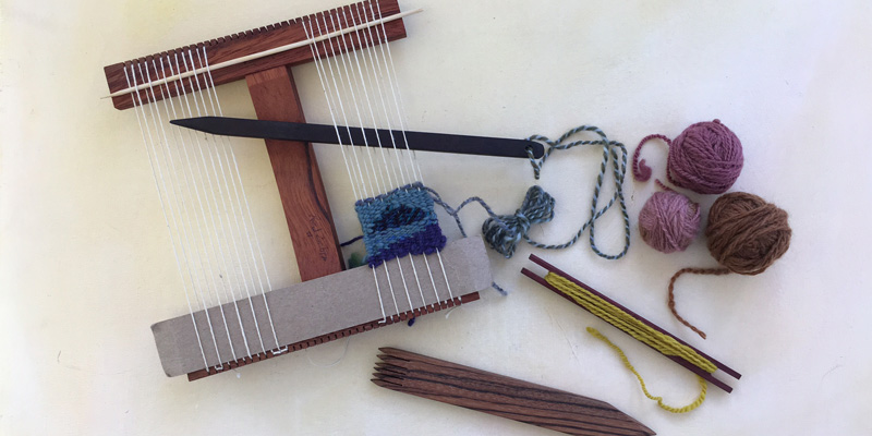 The Lazy Girl's Guide to Weaving Tapestry with Handspun