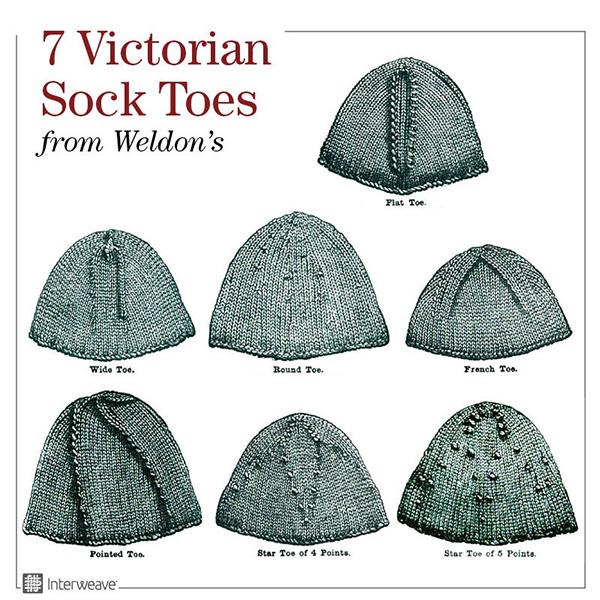 Victorian-era socks