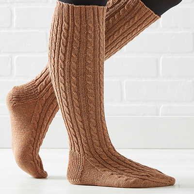 knitting stockings