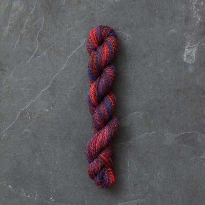Yarn spun by Catrina Reading.