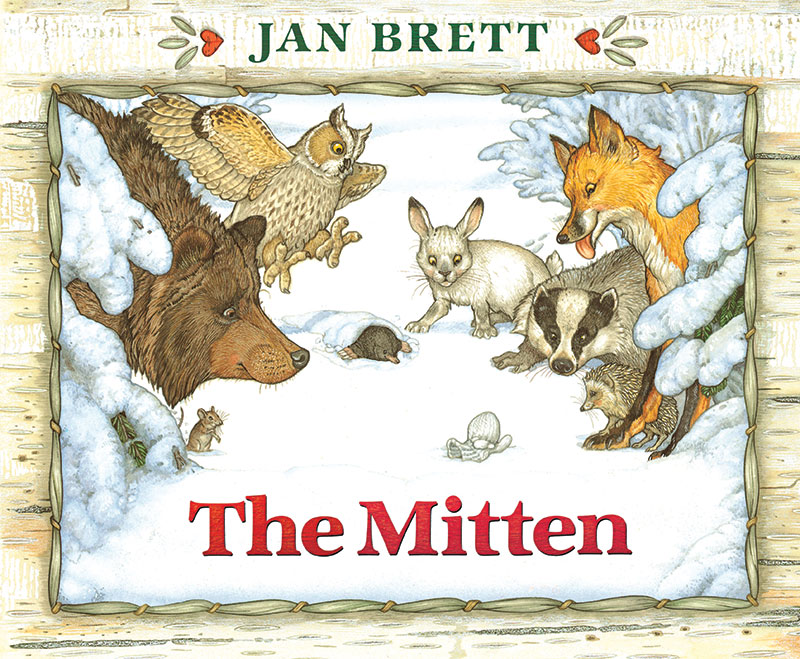 cover Jan Brett The Mitten