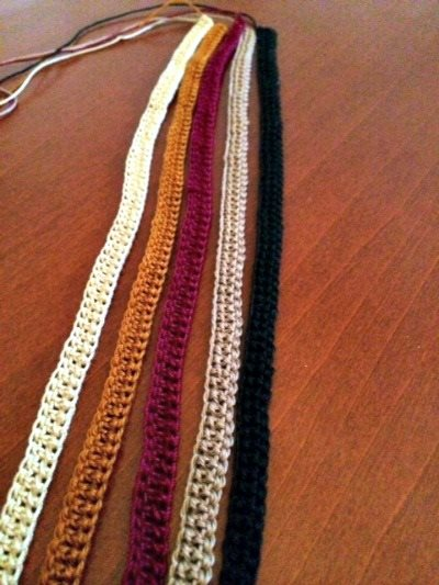 Rapunzel Scarf: How to Braid a Crochet Bracelet