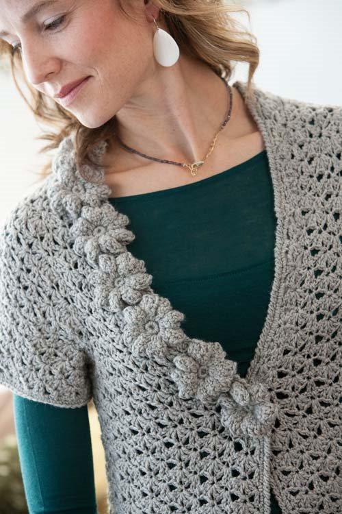 Blueprint Crochet Sweaters: Lace Crochet Cardigan