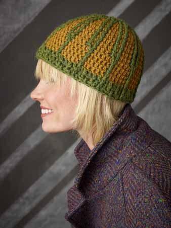Crochet Post Stitch Hat