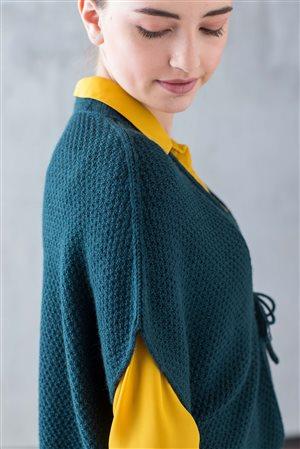Catherine Lowe San Lorenzo Wrap knit.purl Spring/Summer 2015