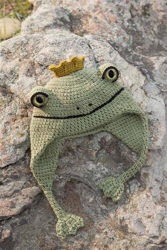 Crochet Ever After: Frog Crochet Hat