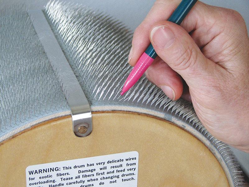 Drumcarder Maintenance