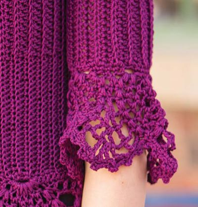 Colorful Crochet Lace: Crochet Lace Cuffs