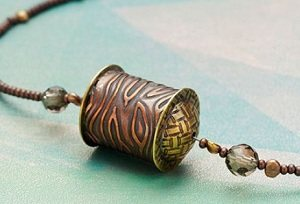 Learn how to create this one-of-a-kind copper tube beaded necklace from the book, Simple Soldering, with a bonus video!