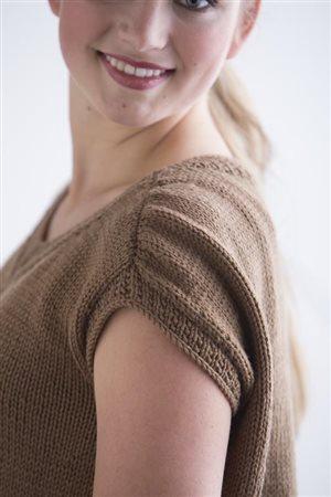 Maria Leigh Medallion Blouse knit.purl Spring/Summer 2015