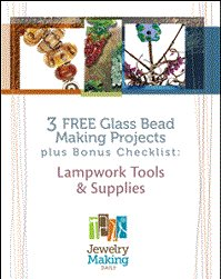 Learn everything you need to know about glass-bead making in this exclusive, FREE eBook with 3 glass bead projects and expert tips.