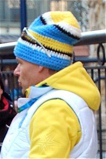 Photo of man wearing Swedish hat