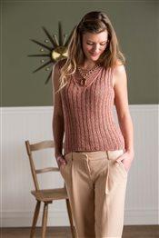 Jen Hagan Linen Rib Tank knit.purl Spring/Summer 2015