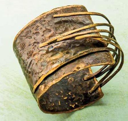 Bronze Age Cuff by Linda Larsen