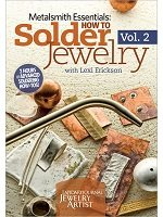 Learn everything you need to know about metalsmithing copper jewelry, silver jewelry and brass jewelry in Lexi Erickson's exclusive Metalsmith Essentials: How to Solder Jewelry Vol. 2!