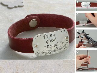 Find this project in Stamped Metal Jewelry by Lisa Niven Kelly