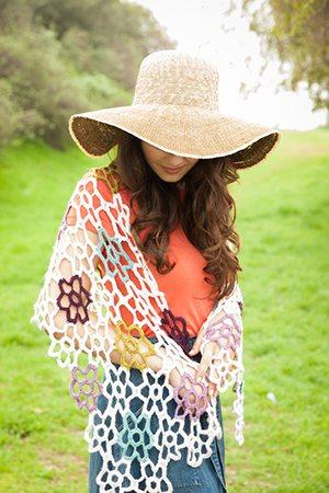 Crochet Lace Shawl