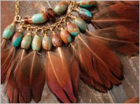 Plucky Feather Earrings