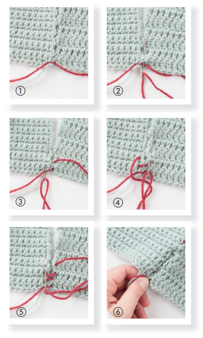 How To Use The Mattress Stitch Interweave