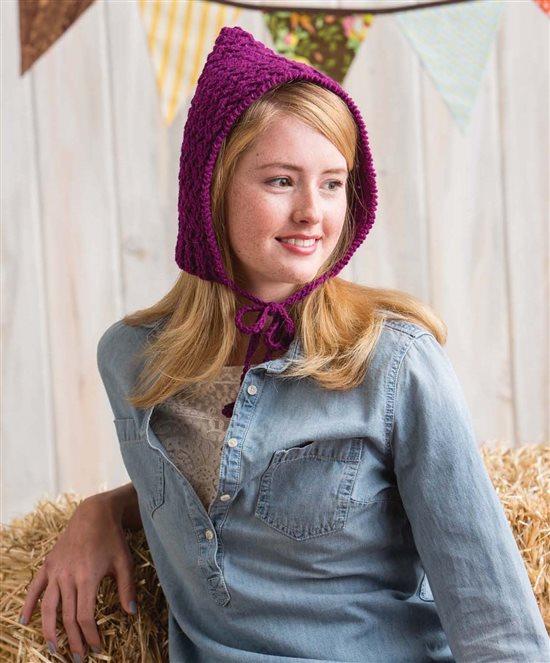 3 Skeins or Less: Crochet Hood