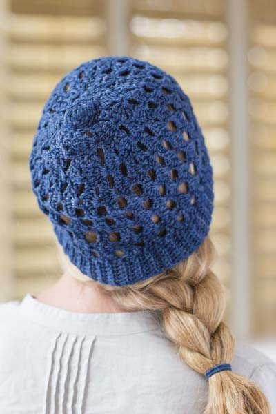 Crochet So Lovely: Lace Crochet Hat