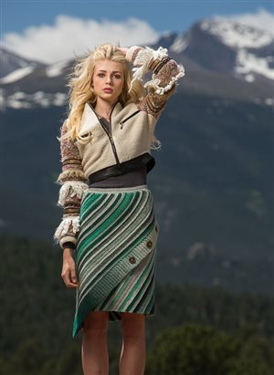 Aslant Skirt