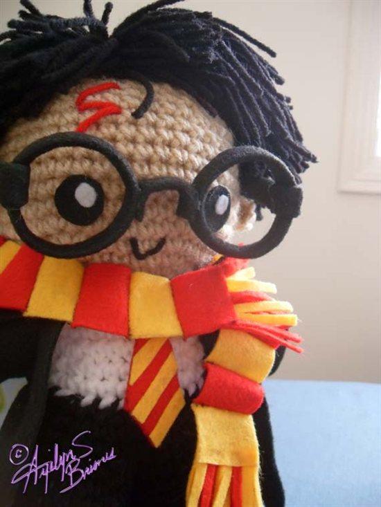 Amigurumi Harry Potter : Early April Eye Candy - Interweave
