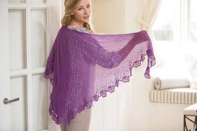 Crochet So Lovely: Lace Crochet Shawl