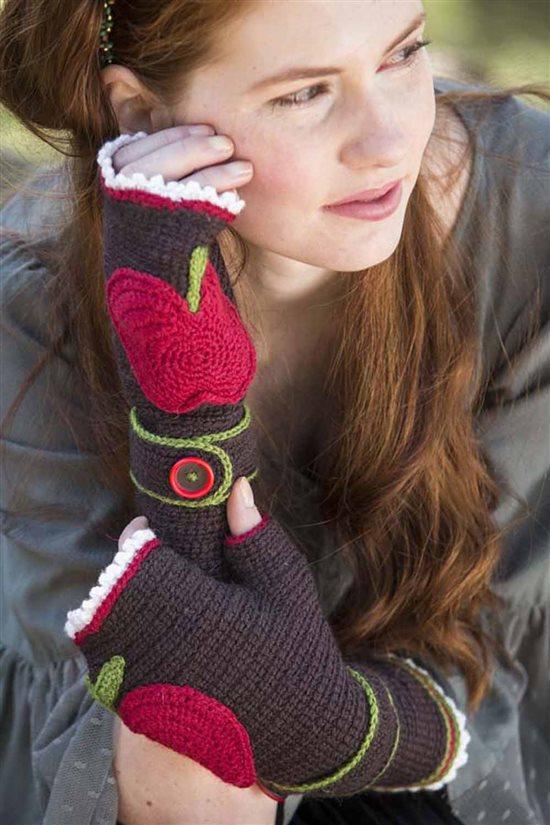 Crochet Ever After: Crochet Fingerless Mitts