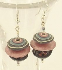 free polymer clay earrings project