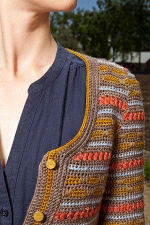 Colorwork Crochet Cardigan
